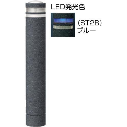 メーカー直送 サンポール リサイクルボラード φ130×H826mm カラー:黒御影調 [RB-134U-SOL(ST2B)]