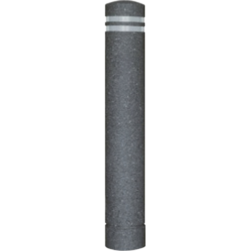 【法人様限定】メーカー直送 サンポール リサイクルボラード φ130×H826mm カラー:黒御影調 [RB-134U(ST2)]
