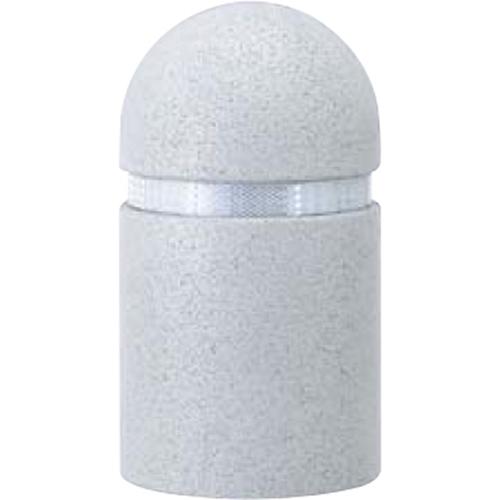 メーカー直送 サンポール リサイクルボラード ゴムチップ φ250×H450mm カラー:グレー [RB-410U(N)]