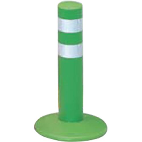メーカー直送 サンポール ガードコーン φ60,台座径φ175×H300mm カラー:グリーン [RBMH-30(G)]