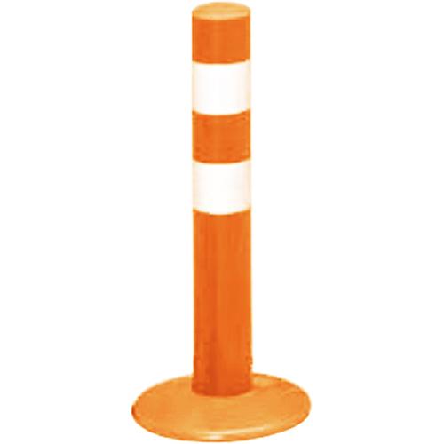 メーカー直送 サンポール ガードコーン φ60,台座径φ175×H400mm カラー:オレンジ [RBMH-40(R)]