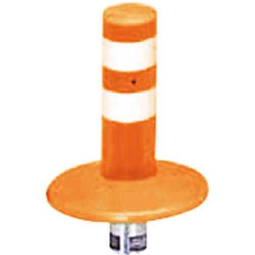 メーカー直送 サンポール ガードコーン φ60,台座径φ175×H200mm カラー:オレンジ [RBMK-20(R)]