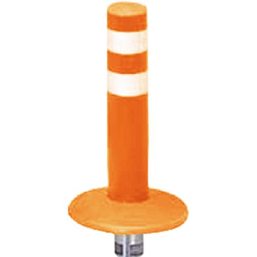 メーカー直送 サンポール ガードコーン φ60,台座径φ175×H300mm カラー:オレンジ [RBMK-30(R)]