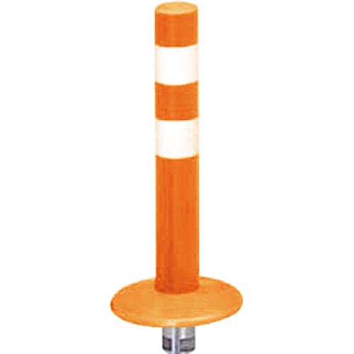 メーカー直送 サンポール ガードコーン φ60,台座径φ175×H400mm カラー:オレンジ [RBMK-40(R)]