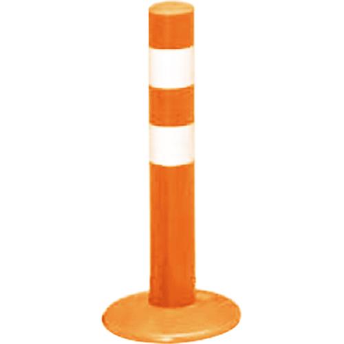 メーカー直送 サンポール ガードコーン φ60,台座径φ175×H400mm カラー:オレンジ [RBMS-40(R)]