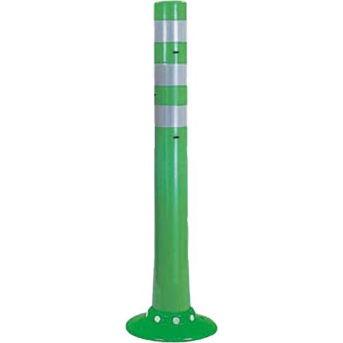 メーカー直送 サンポール ガードコーン  [RBSC-80W(G)] φ80,台座径 φ250×H800mm SUNPOLE