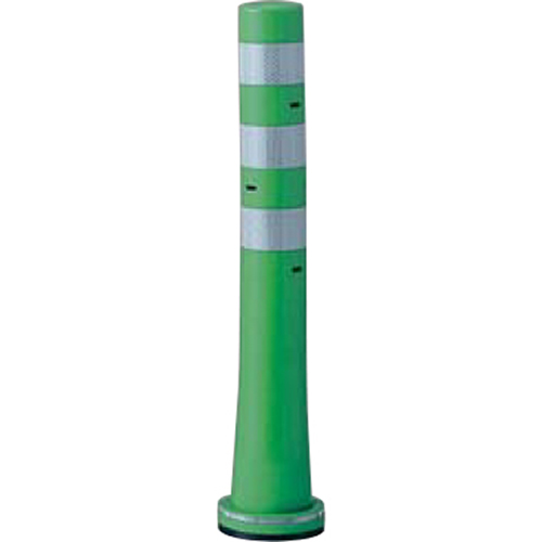 メーカー直送 サンポール ガードコーン  [RBSS-65(G)] φ80,台座径 φ130×H650mm SUNPOLE