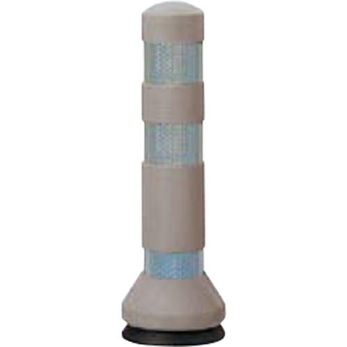 メーカー直送 サンポール リサイクルゴムボラード φ80×H425mm カラー:グレーベージュ [RC-40(KN)]