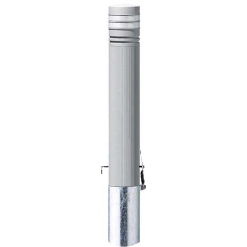 メーカー直送 サンポール リサイクルボラード プラスチック φ115×H850mm カラー:グレー [RP-230SK(N)]
