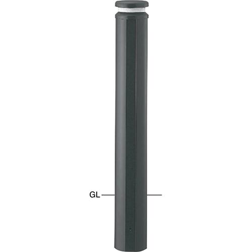 メーカー直送 サンポール ボラード φ152.5×H850mm カラー:ダークグレー [V-310U]