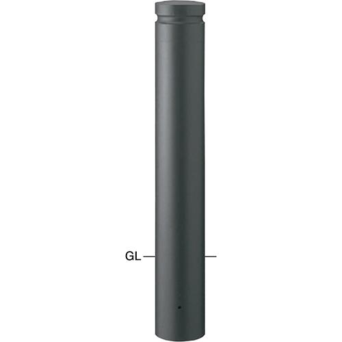 メーカー直送 サンポール ボラード  [V-354U] φ152.5(t3.0)×H750mm SUNPOLE