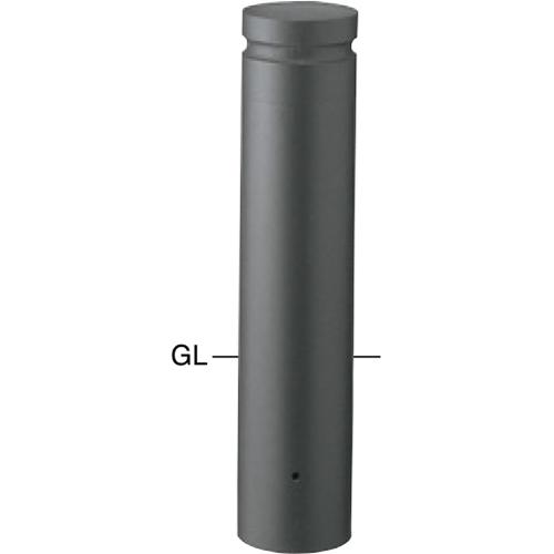 メーカー直送 サンポール ボラード ショート  [V-354UL] φ152.5(t3.0)×H450mm SUNPOLE