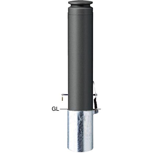メーカー直送 サンポール ボラード  [V-377SKM] φ165(t4.0)×H700mm SUNPOLE