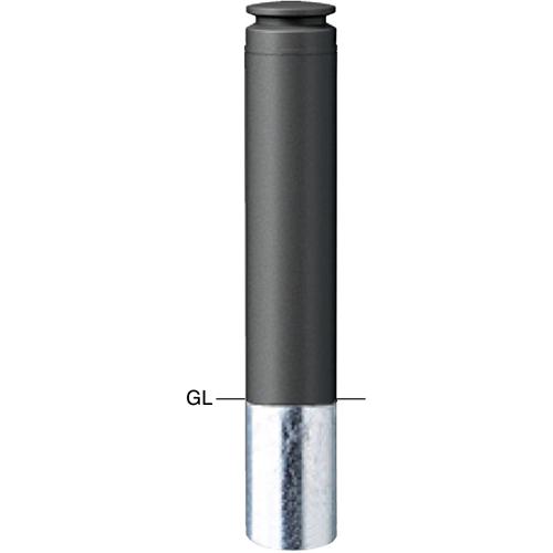 メーカー直送 サンポール ボラード  [V-377SM] φ165(t4.0)×H700mm SUNPOLE