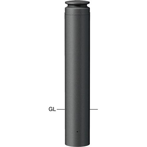 メーカー直送 サンポール ボラード  [V-377UM] φ165(t4.0)×H700mm SUNPOLE