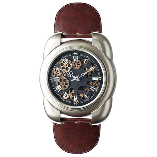 メーカー直送 東洋石創 The GROBAL MARKET(グローバルマーケット) Gear Clock [50302] 海外雑貨 輸入雑貨 W450×H850×D65 ○