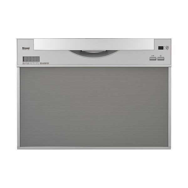 リンナイ ビルトイン食器洗い乾燥機 RKW-601C-SV シルバー《特定保守製品》