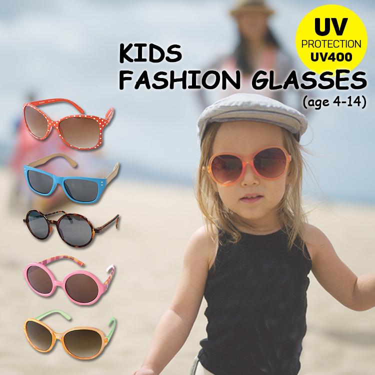 お子様の目の紫外線対策に サングラス UVカットキッズファッショングラス 4~14才向け SFKY 好評 ケース付き Life ベビー用サングラス デポー SPICE オシャレな子ども用 of