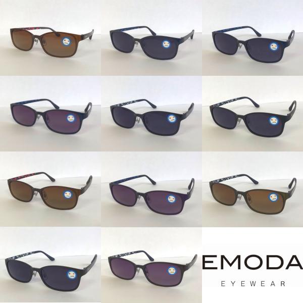 どんな場面でも掛けやすく さりげない花柄が可愛いデザインのサングラス 年間定番 在庫限り 限定特価 サングラス EMODA