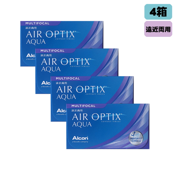 【メーカー直送送料無料】日本アルコン エアオプティクス 遠近両用 6枚入り 4箱(左右2箱ずつ)