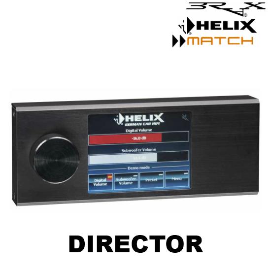 DIRECTOR タッチスクリーンリモコンBRAX/HELIX/MACHのDSP製品に対応
