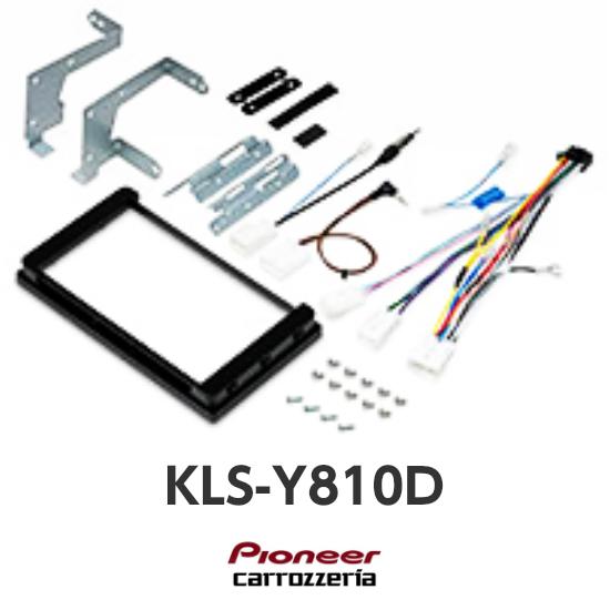 KLS-Y810Dエスティマ(H28/6~現在)8V型カーナビ取付キットカロッツェリア