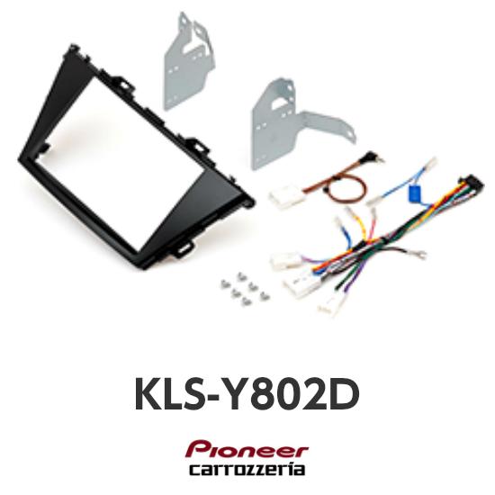 KLS-Y802Dプリウスα/メビウス8V型カーナビ取付キットカロッツェリア