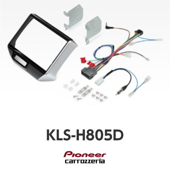 KLS-H805Dホンダ N-BOX/N-BOX+ ※カスタム含む (H27/2~H29/8)N-BOX SLASH(H26/12~現在)8V型カーナビ取付キットカロッツェリア