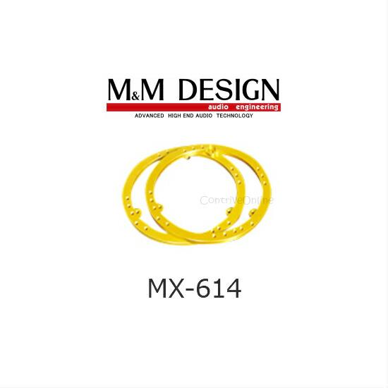 MX-614M&M DESIGNアルミインナーバッフルベースホンダ車用