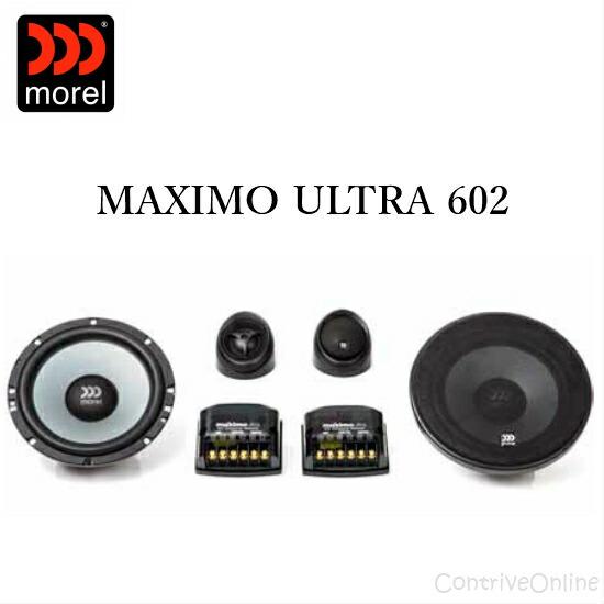 新着 《正規輸入品》 AL完売しました。 morel モレルMAXIMO ULTRA 2wayスピーカーシステム ウルトラ 602マキシモ 60216.5cm