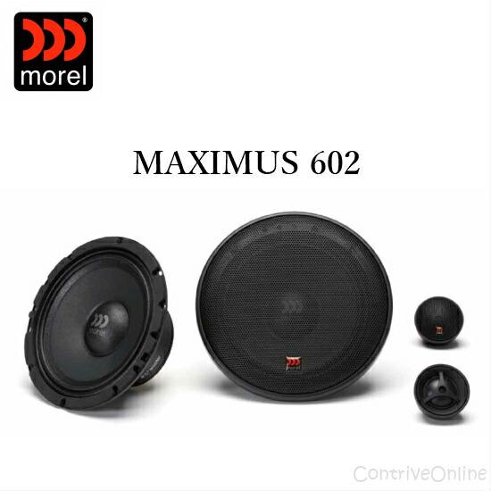 morel モレルMAXIMUS 602 マキシマス 60216.5cm 2wayスピーカーシステム