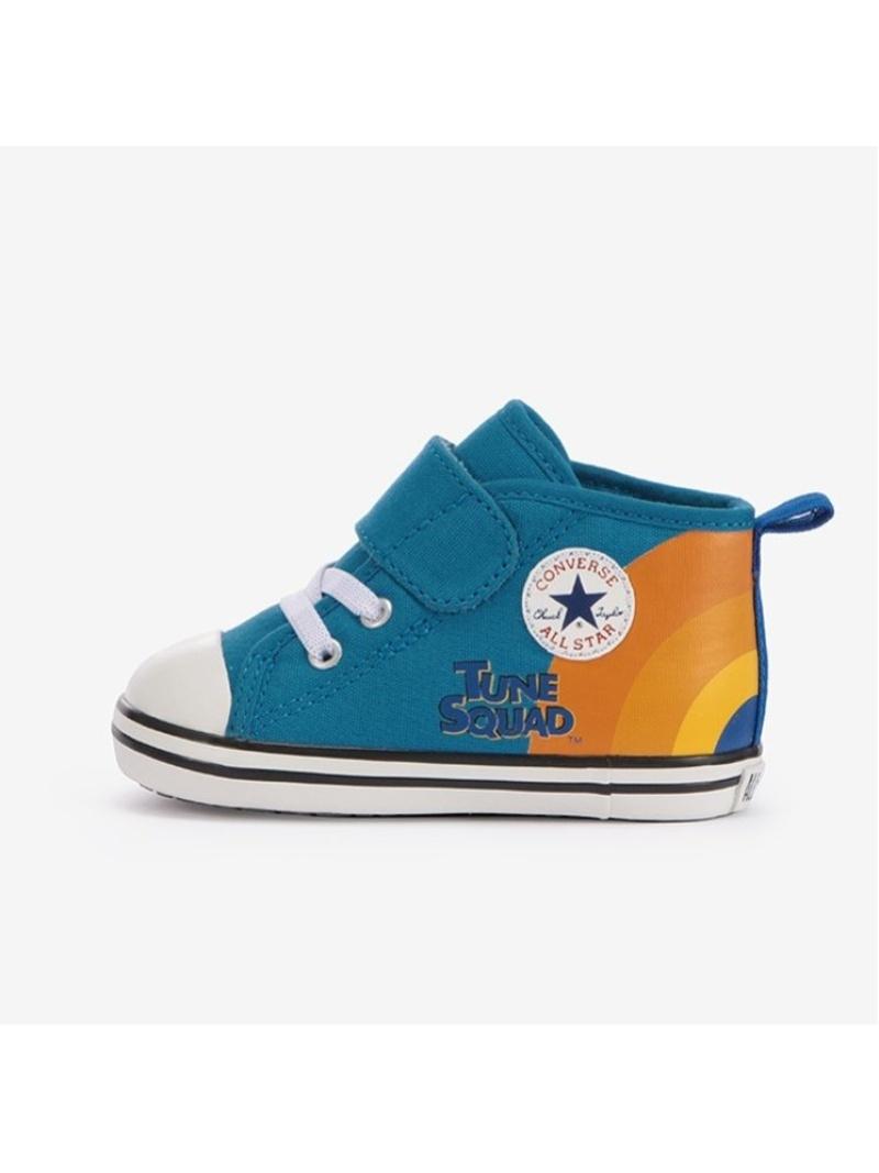 CONVERSE キッズ シューズ コンバース 公式 BABY ALL STAR 高品質 N SPACE JAM MT Fashion スリッポン ホワイト Rakuten オールスター ジャム スペース ベビー V-1 ブルー 着後レビューで 送料無料 スニーカー