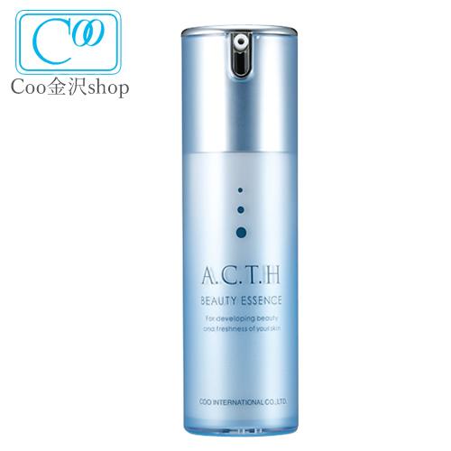 送料無料 化粧品 美容液 シワ シンエイク ハリ 弾力 ACTH ビューティー エッセンス 30ml 気 になる年齢肌 ミゾ にシン-シリーズがアプローチ クーインターナショナル