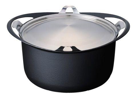 【送料無料】KOMIN(コーミン) 極薄鋳物鍋 両手鍋24cm【取寄せ】