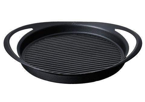 Use the magic pan of ductile cast iron. ■ KOMIN ultra thin cast iron pot Grill Pan.