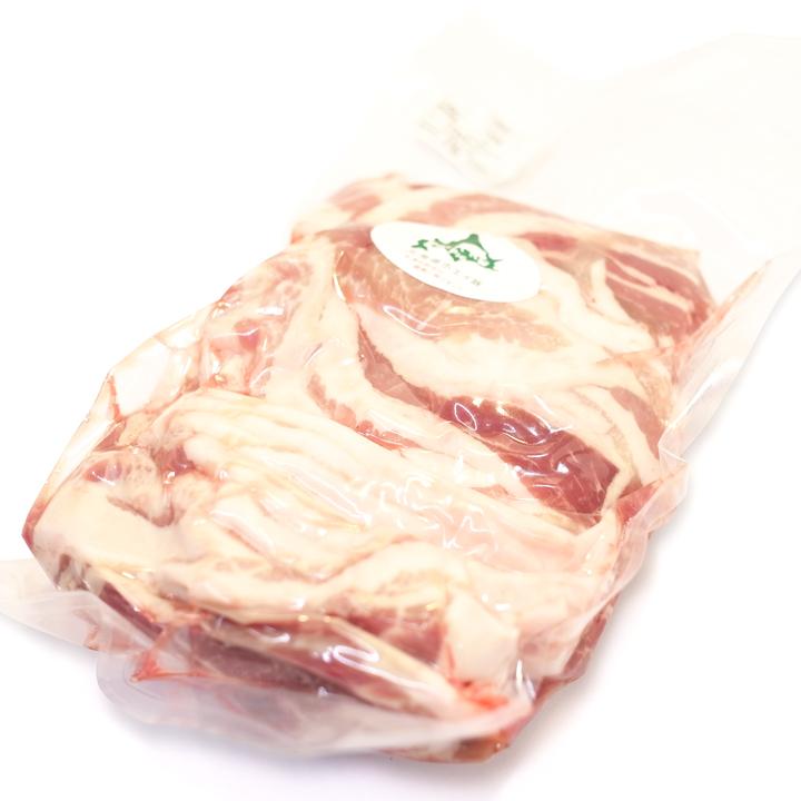 홋카이도산 호에이돼지(호 A돼지) 바라스 라이스 1 kg