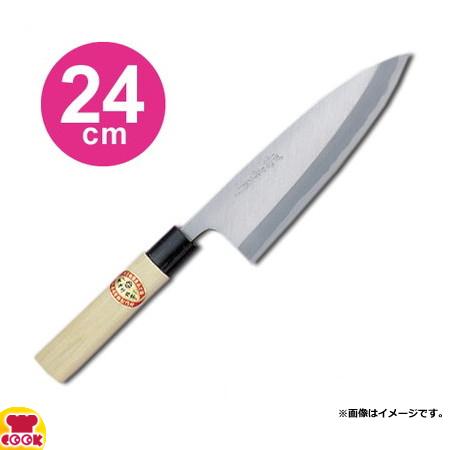 青木刃物製作所 堺孝行 霞研 出刃 24cm 06041(名入れ無料)(送料無料、代引OK)