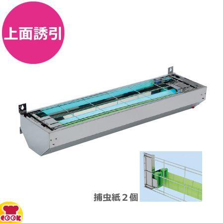 朝日産業 ムシポン MP-3000KW 壁付型 上面誘引型 捕虫紙2個(送料無料 代引不可)