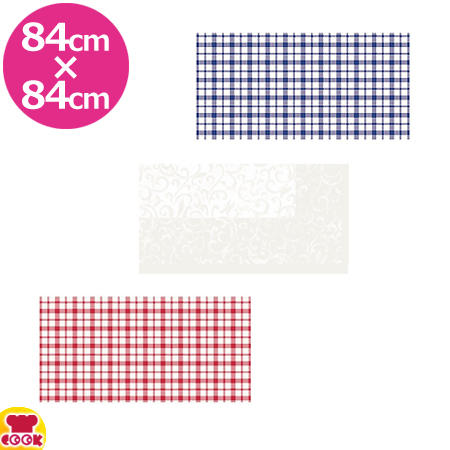Duni Dunicel デザインテーブルカバー 同色パック 84×84cm(20枚×5パック)(送料無料、代引不可)