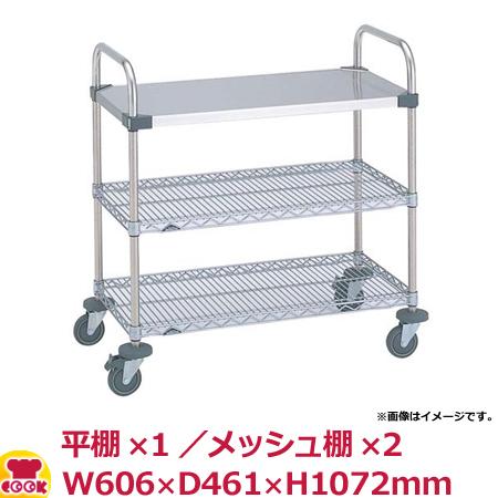 スーパーエレクター・カート UTTカート1型 NUTT0 W606×D461×H1072mm(送料無料、代引不可)