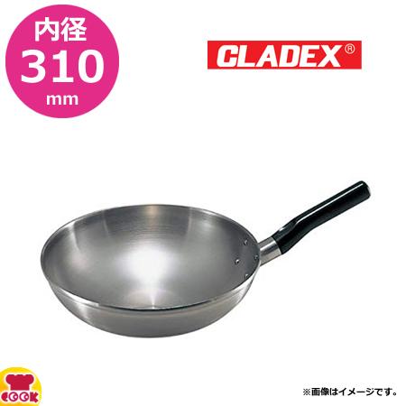 CLADEX ロイヤル 中華鍋 HCD-330 内径31×高さ9cm(送料無料、代引不可)