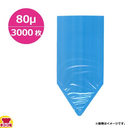 MICS化学 AOV規格袋 AOV300 100×280×厚80μ 3000枚入(送料無料、代引不可)