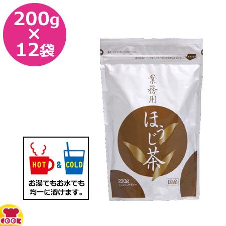 OHTORI 業務用ほうじ茶 200g×12袋 bsd-200h(送料無料、代引不可)