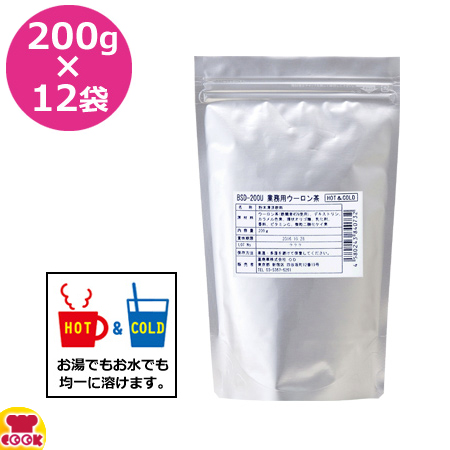 OHTORI 業務用ウーロン茶 200g×12袋 bsd-200u(送料無料、代引不可)