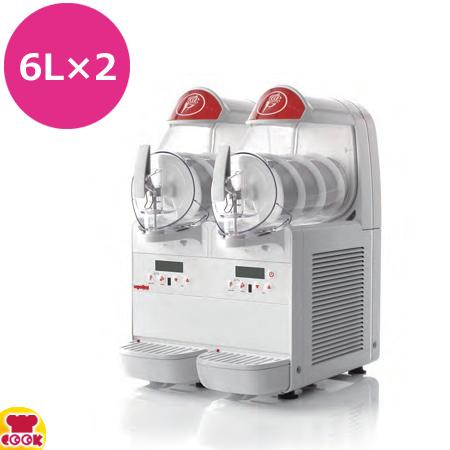 タイジ フローズンマシン miniGEL Plus2 (6L×2連)(送料無料、代引不可)