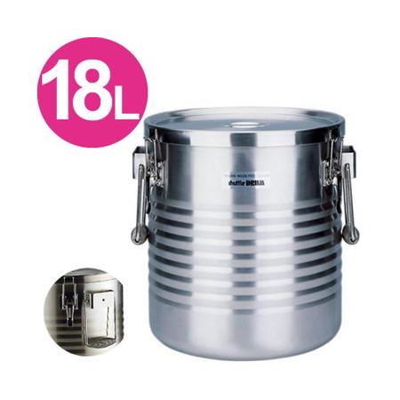 サーモス 高性能保温食缶 シャトルドラム JIK-W18(18L)(送料無料、代引不可)