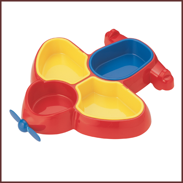 Kids Tableware Child Lunch Plate Plane ◇ Our Okosama Lunch / Dish / Plate /  Partition