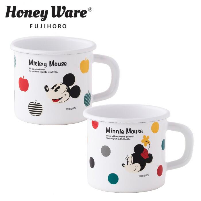 富士ホーロー ディズニー ミッキー ミニーシリーズ レトロなホーローにクラシックスタイルのミッキーとミニーがカラフルでポップに描かれています ミニー シリーズ 7cm Series Disney マグ マグカップ ホーローマグ 琺瑯 NEW ARRIVAL MickeyMinnie 40%OFFの激安セール