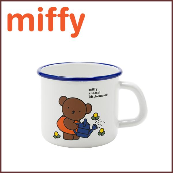 Miffy Miffy Enamel Mug 450 Ml Barbara Round Kitchen Porcelain Enamel Kitchen Supplies Mug Cup Mug Cup Enamel Vessel Milf Toy Kitchen Toy Anime Cute