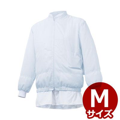 冷却ファン対応作業着 白い空調服 Mサイズ SG650/扇風機作業着 送風作業着